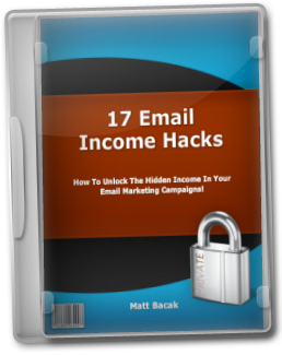 17 Email Income Hacks